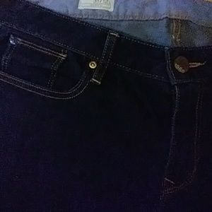 Gap 1969 curvy dark blue jeans 31/12L